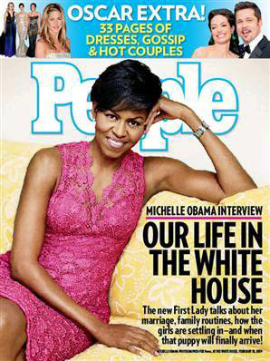 COVER QUEEN || MICHELLE OBAMA x PEOPLE MAGAZINE