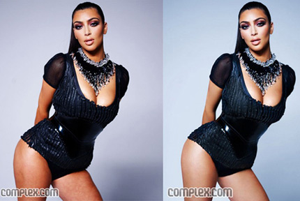 Kim Kardashian photoshop