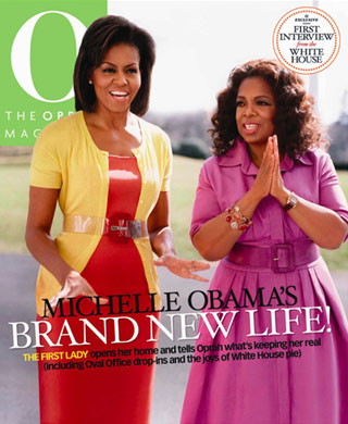 COVER QUEEN || MICHELLE OBAMA & OPRAH – O MAGAZINE