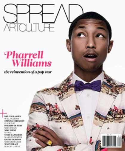 COVER KING || Pharrell x Spread| Art Culture Magazine