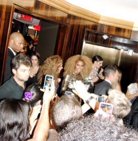 Beyonce Walks In Top Secret Tom Ford Fashion Show