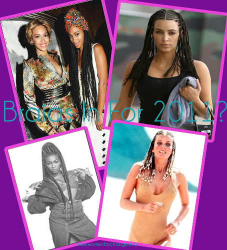 Hair & Beauty // Are Braids In For 2011?