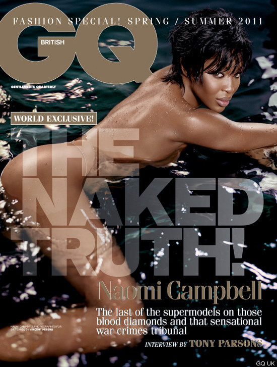 Cover Queen // Naomi Campbell x British GQ