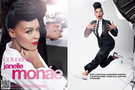 Cover Queen // Janelle Monae Officially A Cover Girl