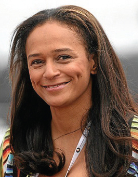 Female billionaire Isabel dos Santos